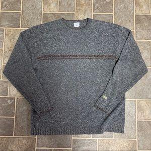 Mens Vintage Columbia Sweater Long Sleeve
